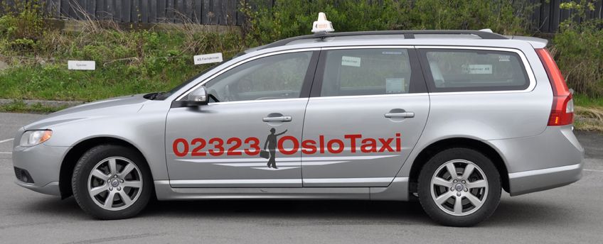 Oslo Taxi working concept design