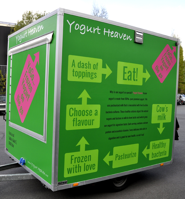 Yogurt Heaven YoGo complete - rear