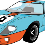 Ford GT40 (Adobe Illustrator)
