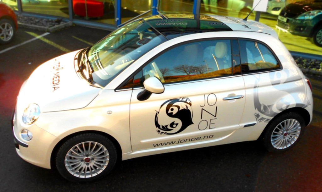 Jonoe Sushi/Automedia AS: Fiat 500, finished product