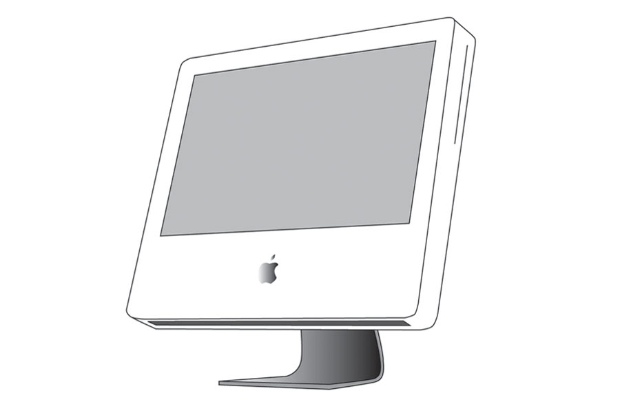iMac (Adobe Illustrator)